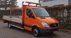 MB Sprinter 516 verkeersbordenwagen