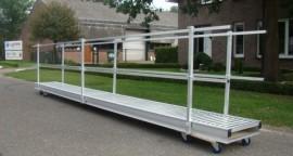 Aluminium loopbrug 4.0M
