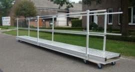 Aluminium loopbrug 5.0M