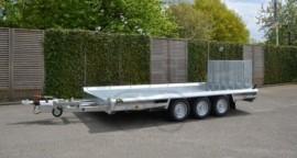 3-asser Machinetransporter 3500KG Nieuw