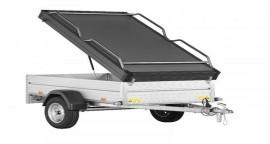 Bagagewagen 1250L Geremd