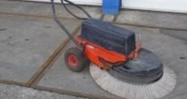 Veegmachine Schijf 80CM Benzine